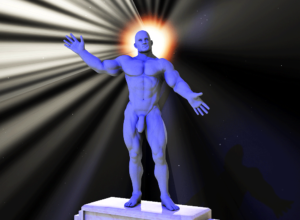 The One True Blue God